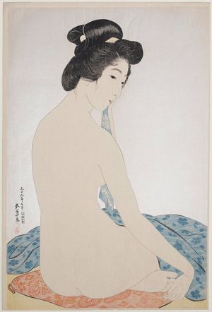 Hashiguchi Goyo: Woman after the Bath (Yokugo no onna) - Museum of Fine Arts