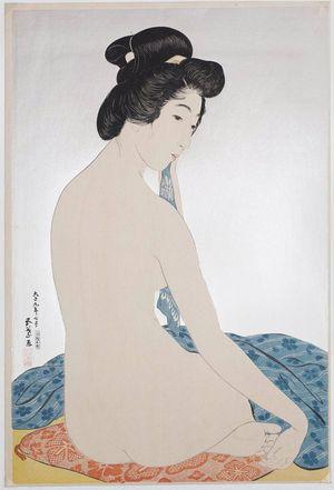 橋口五葉: Woman after the Bath (Yokugo no onna) - ボストン美術館