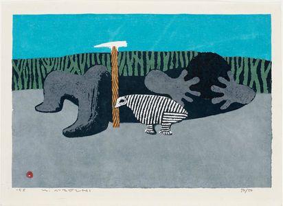 Azechi Umetaro: Sleep on the Mountain (Yama ni nemuru) - ボストン美術館