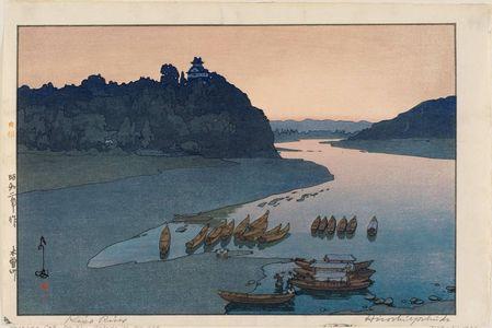 Yoshida Hiroshi: Kiso River (Kisogawa) - Museum of Fine Arts