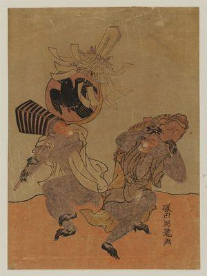 Isoda Koryusai: Monkeys Dancing - Museum of Fine Arts