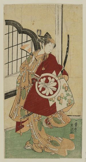 Ippitsusai Buncho: Actor Segawa Kikunojo I - Museum of Fine Arts