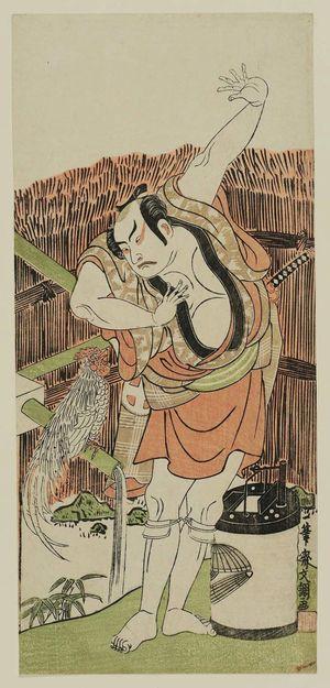 Ippitsusai Buncho: Actor Ôtani Hiroji I - Museum of Fine Arts