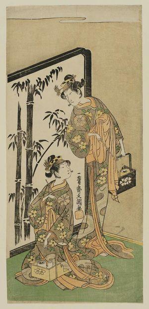 Ippitsusai Buncho: Actors - Museum of Fine Arts