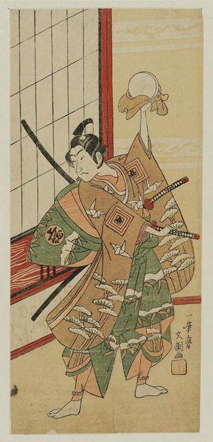 Ippitsusai Buncho: Actor Ichikawa Benzo as Kazusa-no-suke - Museum of Fine Arts