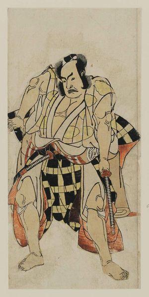 Katsukawa Shunsho: Actor Nakamura Sukegoro II - Museum of Fine Arts