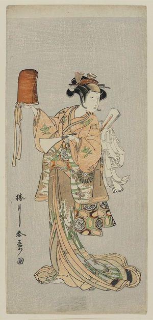 Katsukawa Shunsho: Actor Nakamura Noshio as Hotoke Gozen - Museum of Fine Arts