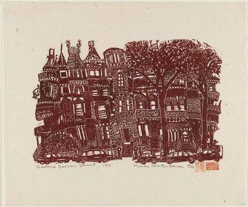 松原直子: Boston's Beacon Street - ボストン美術館
