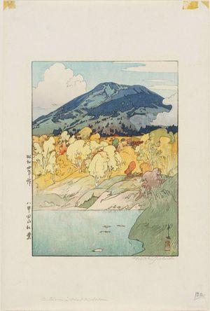 Yoshida Hiroshi: Autumn in Hakkodasan (Hakkoda-san kôyô) - Museum of Fine Arts