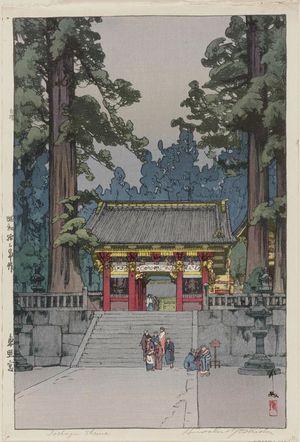 Yoshida Hiroshi: Tôshôgû Shrine (Tôshôgû) - Museum of Fine Arts