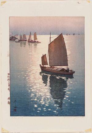 吉田博: Calm Wind - ボストン美術館
