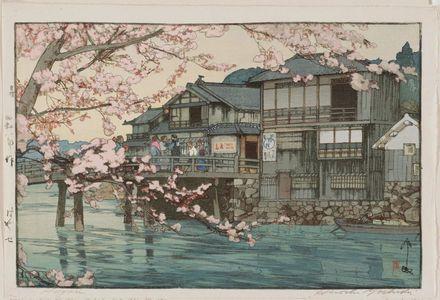 Yoshida Hiroshi: Hayase - Museum of Fine Arts