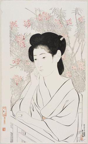橋口五葉: Onsen-jiku (or yado) - ボストン美術館 - 浮世絵検索