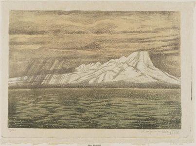 Oda Kazuma: Snowy Mountains - Museum of Fine Arts
