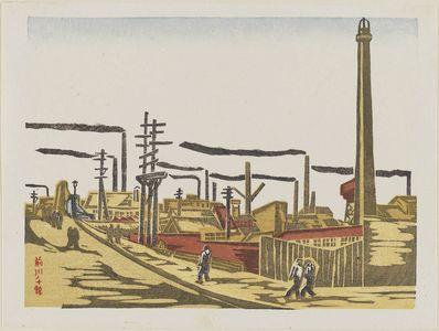 前川千帆: Factories - ボストン美術館
