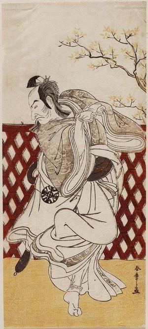 Katsukawa Shunsho: Actor Nakamura Nakazô I as Sakon-gitsune, the Fox of Shiinokizawa - Museum of Fine Arts