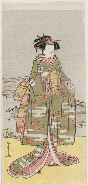 Katsukawa Shunsho: Actor Iwai Hanshiro IV as Oume - Museum of Fine Arts