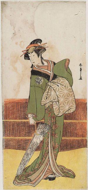 Katsukawa Shunsho: Actor Nakamura Rikô as Gaku no Kosan - Museum of Fine Arts