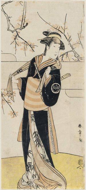 Katsukawa Shunsho: Actor Nakayama Tatezo as Kaminari Osho - Museum of Fine Arts