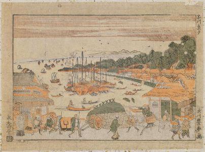 Utagawa Toyoharu: Shinagawa Keiseki - Museum of Fine Arts
