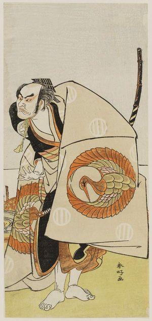 Katsukawa Shunko: Actor in dramatic pose - Museum of Fine Arts