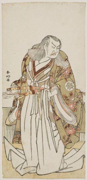 勝川春好: Actor Nakajima Mihoemon II - ボストン美術館