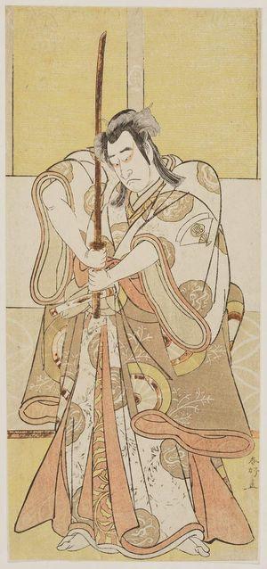 Katsukawa Shunko: Actor Onoe Matsusuke as Takanori Shinno - Museum of Fine Arts