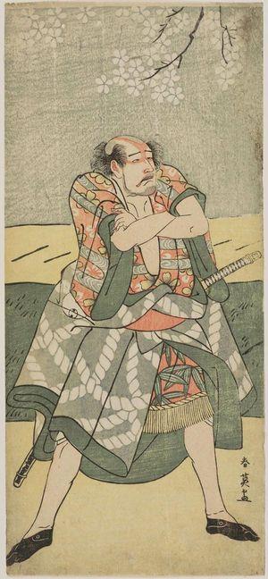 勝川春英: Actor Arashi Ryûzô as the yakko Ukiyo no Matabei (?) - ボストン美術館