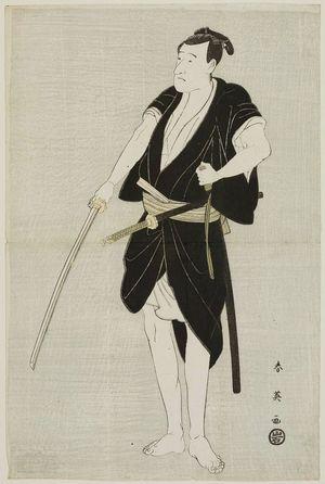Katsukawa Shun'ei: Actor Ichikawa Danjûrô VI as Ono Sadakurô - Museum of Fine Arts