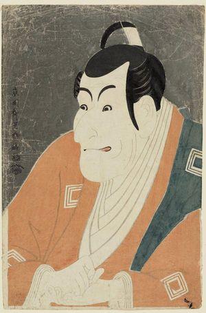 Toshusai Sharaku: Actor Ichikawa Ebizô as Takemura Sadanoshin - Museum of Fine Arts