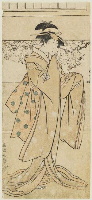 Toshusai Sharaku: Actor Iwai Kumesaburô as the Geisha Kumekichi - Museum of Fine Arts