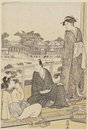 Kubo Shunman: Party at Mukôjima - Museum of Fine Arts
