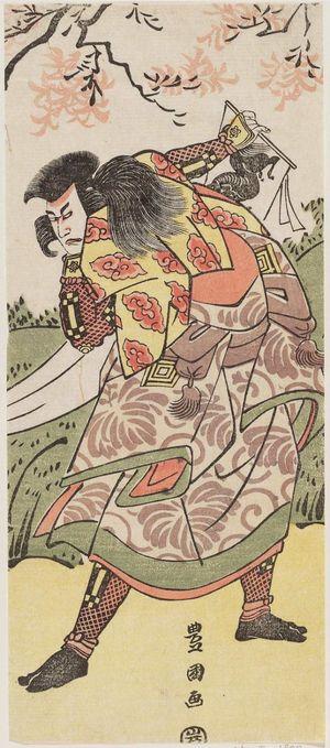 歌川豊国: Actor Ichikawa Ebizô - ボストン美術館