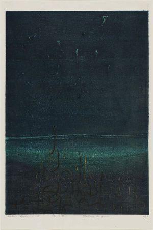 Hagiwara Hideo: Fantasy in Green 1 (Midori no gensô 1) - Museum of Fine Arts