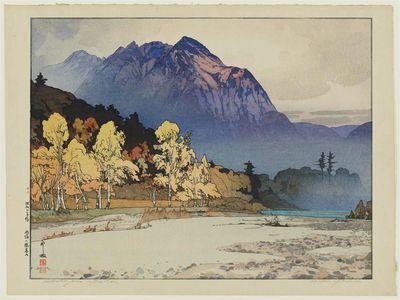Yoshida Hiroshi: Hodakayama after Rain (Ugo no Hodakayama) - Museum of Fine Arts