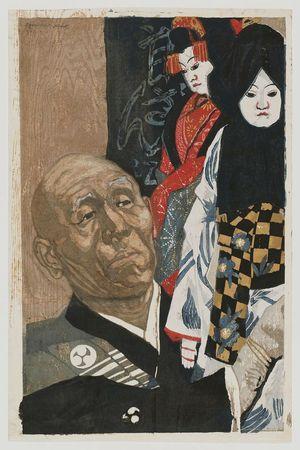 Sekino Jun'ichiro: The Puppet Manipulator Bungoro in the Greenroom - Museum of Fine Arts