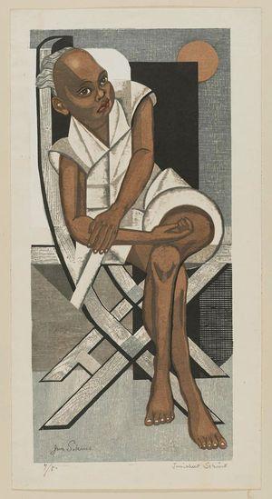 Sekino Jun'ichiro: Black Boy - Museum of Fine Arts