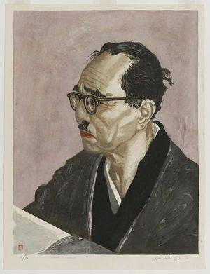 Sekino Jun'ichiro: Portrait of Hinatsu Konosuke (1890–1971) - Museum of Fine Arts