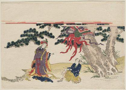 Katsukawa Shunko: The Feather Robe (Hagoromo) - Museum of Fine Arts