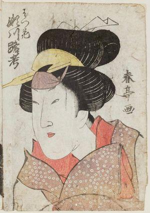 Katsukawa Shuntei: Actor Segawa Rokô - Museum of Fine Arts