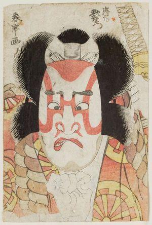 Katsukawa Shuntei: Actor Nakamura Utaemon as Tadanobu - Museum of Fine Arts