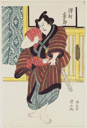 Utagawa Kuninao: Actor - Museum of Fine Arts