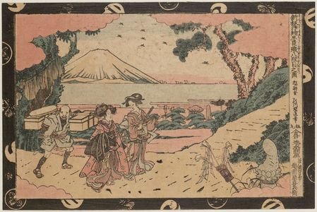 Utagawa Kuninao: Act VIII (Hachidanme no zu), from the series Newly Published Perspective Pictures of the Storehouse of Loyal Retainers (Shinpan uki-e Chûshingura) - ボストン美術館