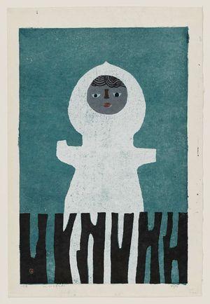 Azechi Umetaro: Figure in White (Shiroi zo) - ボストン美術館