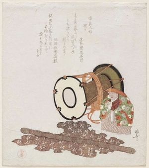柳々居辰斎: Shôjô, from the series Nara Dolls (Nara ningyô) - ボストン美術館