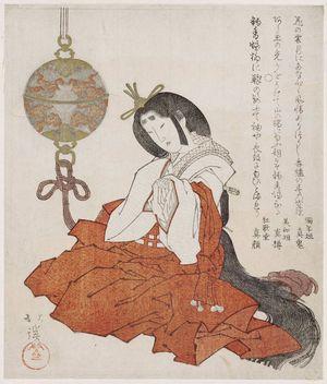 魚屋北渓: A Shinto dance - ボストン美術館