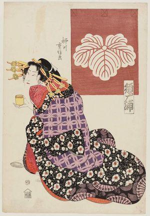柳川重信: Sugaura of the Tsutaya - ボストン美術館