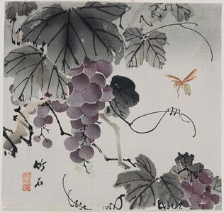 Nagamachi Chikuseki: Grapevine and Wasp - Museum of Fine Arts
