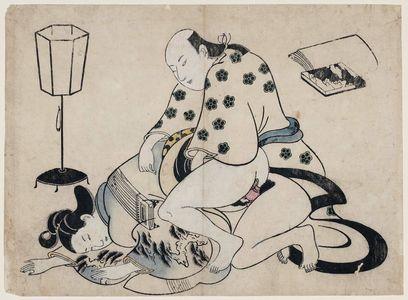 Torii Kiyonobu II: Erotic Print - Museum of Fine Arts