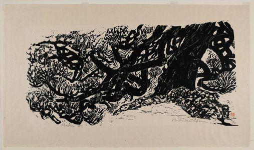 松原直子: Pine Tree (Matsu) - ボストン美術館